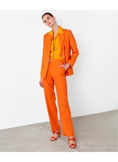 Ipekyol Kadın  Pantolon IS1200003151 Oranj